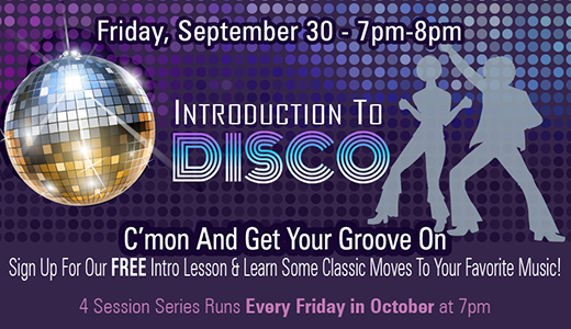 Intro To Disco Series Free Class
