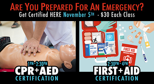 CPR AED and First Aid Training