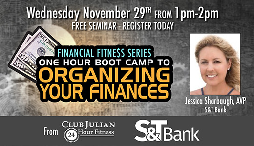 Organize Your Finances - One Hour Boot Camp