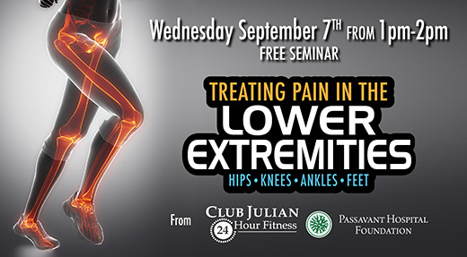 Sept. 7 Extremities Pain Seminar