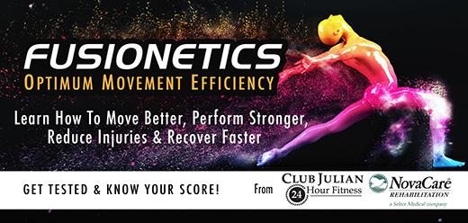 Fusionetics Class Improves Movement Efficiency Sept. 30