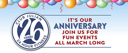 Check Out Our Anniversary Month Events