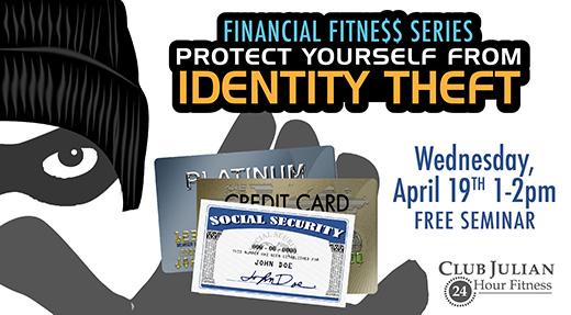 April 19 Identity Theft Seminar