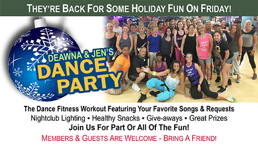 Deawna and Jen's Dance Party Returns Dec. 29
