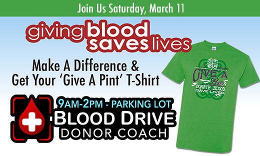 2017 Give A Pint Blood Drive