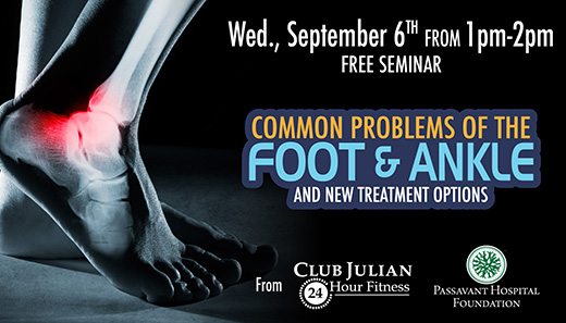 Treating Foot and Ankle Pain