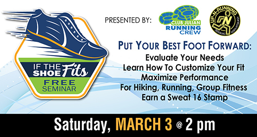 If The Shoe Fits Seminar March 3