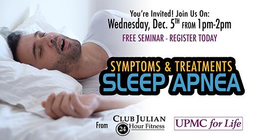 December Sleep Apnea Seminar