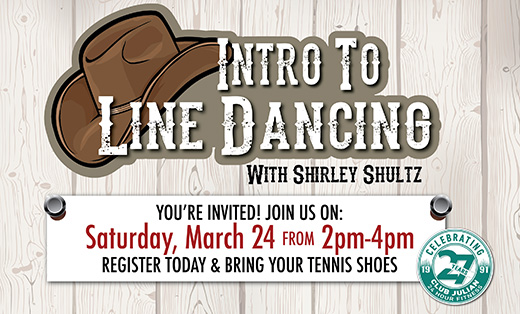 Intro To Line Dancing March 24