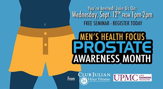 September Prostate Health Awareness