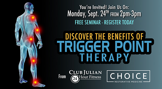September Trigger Point Therapy