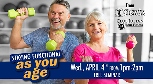 Staying Functional As We Age Event