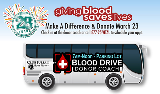 2019 Give A Pint Blood Drive