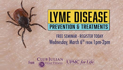 Lyme Disease Seminar March 6