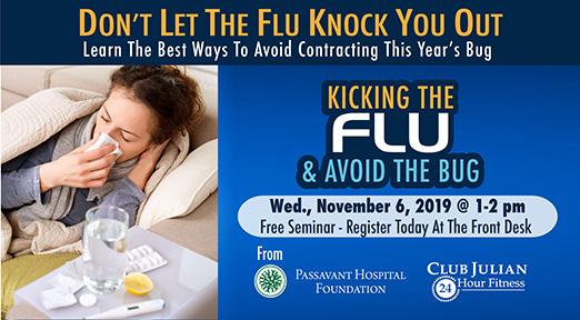 Kick The Flu Virus This Year