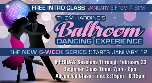 Experience Ballroom Dancing In January