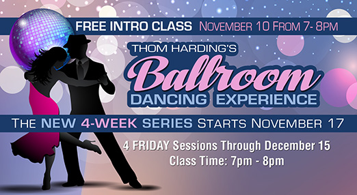 Experience Ballroom Dancing In August