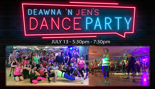 Deawna and Jen's Dance Party Returns July 13