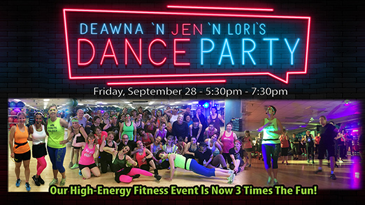 Deawna and Jen's Dance Party Returns Fri. Sept. 28