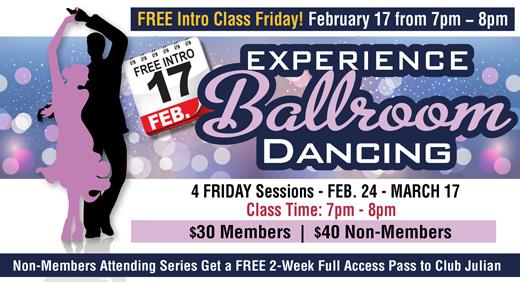 Experience Ballroom Dancing