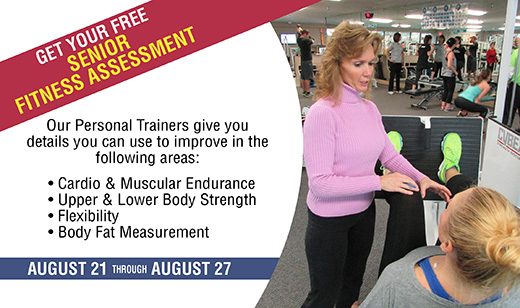August Senior Fitness Assessment