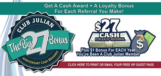 Introducing The Big 27 Bonus Referral Rewards!