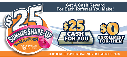Introducing Summer Shape-Up Referral Rewards!