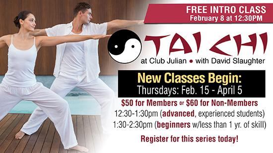 TaiChi Free Session Feb. 8!