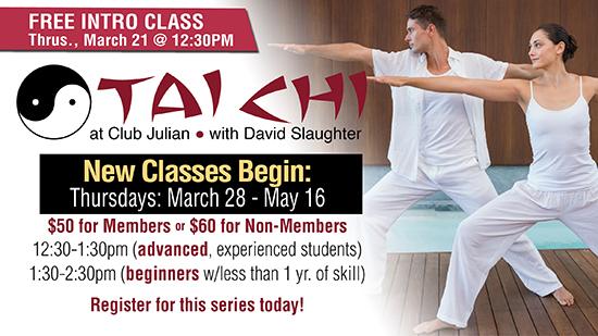 TaiChi Free Session March 21!