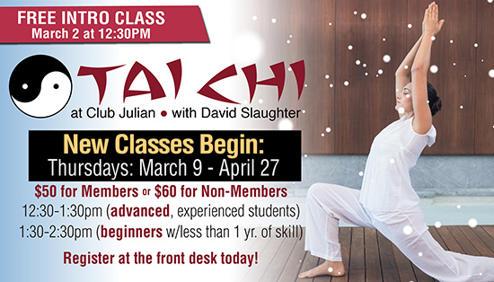 TaiChi Free Session March 2!