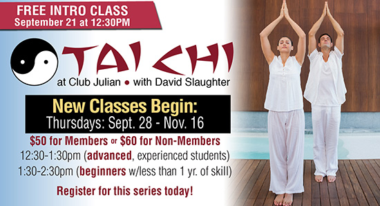 TaiChi Free Session September 21!